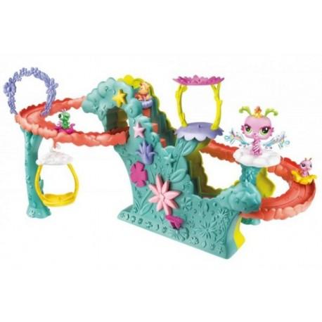 LPS - Velký hrací set okouzlující víly - jezdící schody pro víly