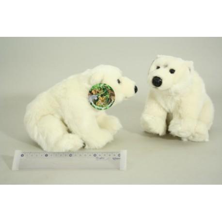 Plyšový medvěd polární cca 28cm