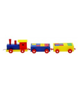 Woody KAPKA NADĚJE Vlak barevný - 2 vagony