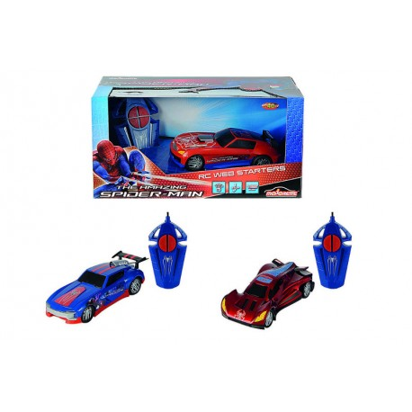 Spiderman RC Starter Series, 1kan,- modrý
