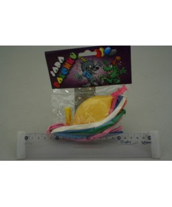 Modelovací balónky +Mini pumpa 8ks