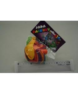 Různobarevné balónky bez potisku 13ks