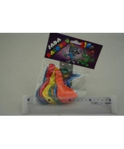 Různobarevné balónky metalíza 10ks