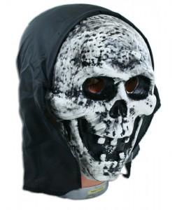 Maska smrt se šátkem