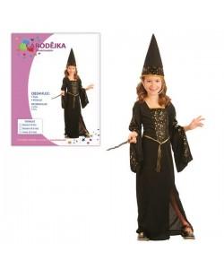 Kostým na karneval Čarodějka 5-9let