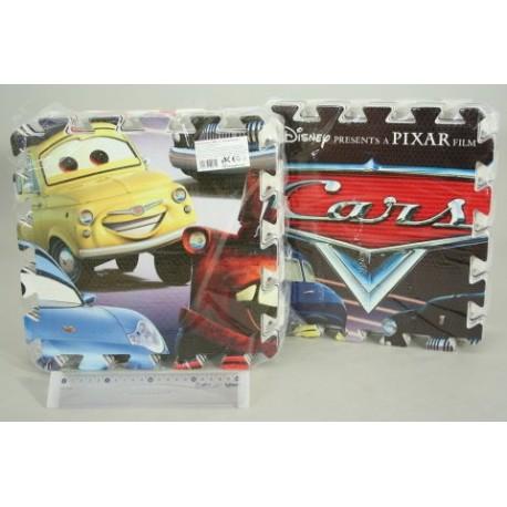 Pěnové podlahové puzzle Cars