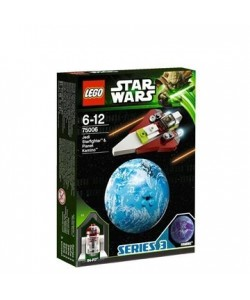 LEGO Star Wars 75006 Jedi Starfighter & Planet Kamino