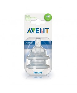 AVENT dudlík ( savička ) AIRFLEX 2 otvory 2 ks