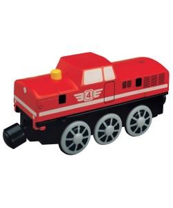 Maxim Elektrická dieselová lokomotiva červená