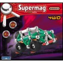 Supermag AUTO 4WD 95dílků - Magnetická stavebnice