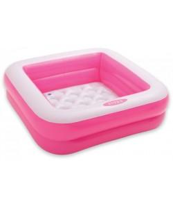 INTEX Bazének 85x85x23cm, 1-3 roky, růžový