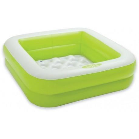 Intex Bazének 85x85x23cm, 1-3roky- zelený