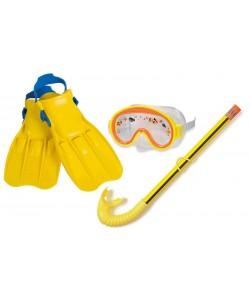 Intex Sada potápěčská 3 ks - brýle, šnorchl, ploutve 3 - 8 let