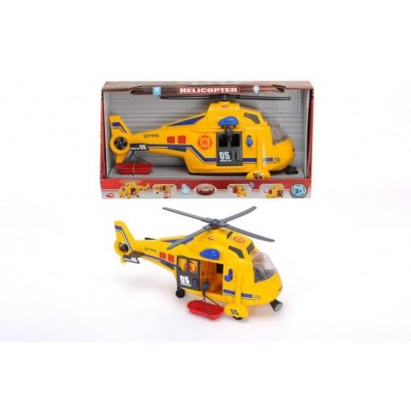 Dickie Vrtulník 41 cm, zvukové a světelné efekty