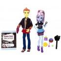 Monster High Třídní Abbey a Heath