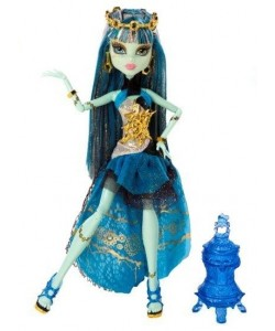 Monster High deluxe 13 přání Frankie Stein