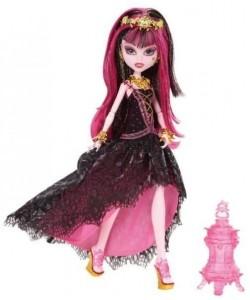 Monster High deluxe 13 přání Draculaura