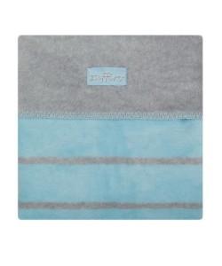 Dětská bavlněná deka Womar 75x100 modrá