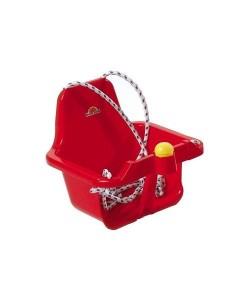 Houpačka plastová s klaksonem červená