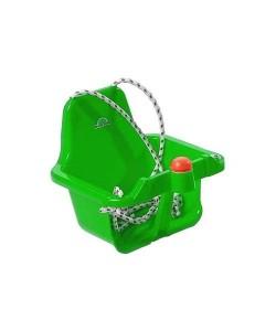 Houpačka plastová s klaksonem zelená