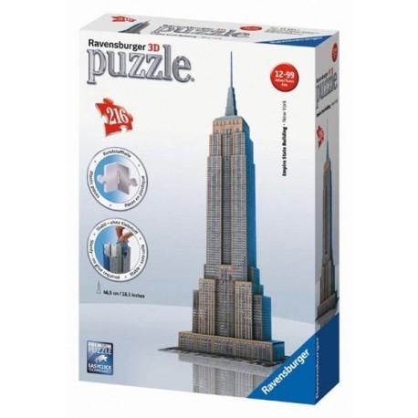 Puzzle Ravensburger Empire State Building 3D 216 dílků