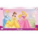 Dino Puzzle deskové Princezny 15 dílků