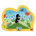 Dino Puzzle Krteček nese vodu 25 dílků