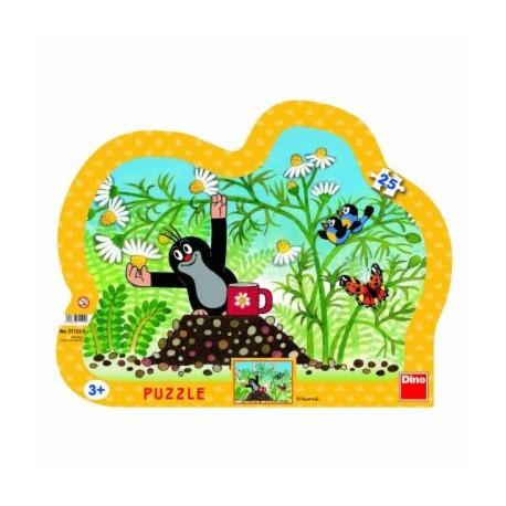Dino Puzzle Krtek s hrníčkem 25 dílků