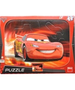 Dino Puzzle deskové Cars 12 dílků