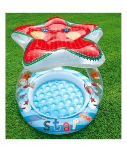 Intex Bazén dětský Hvězda se stínítkem