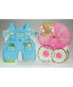 Dárková taška Baby lesk 24 cm x 28 cm