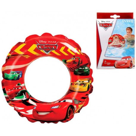 INTEX Nafukovací kruh cars 51 cm