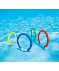 Intex Kroužky pro potápění 4barvy