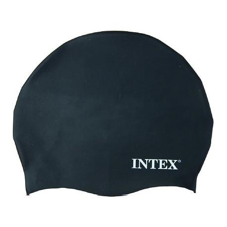 Intex Koupací čepice černá Věk 8+