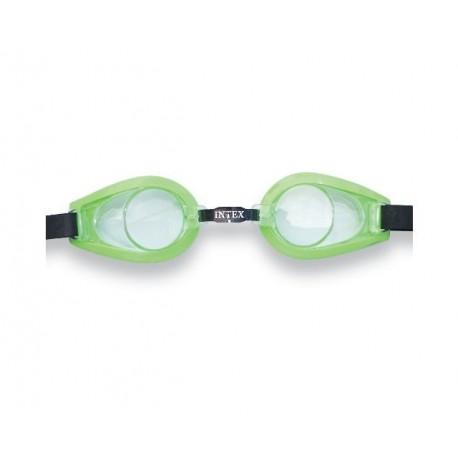 INTEX Plavecké brýle 8+ zelené
