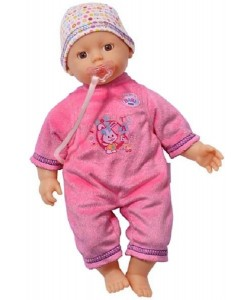 My little BABY BORN panenka tmavě růžová, 32 cm