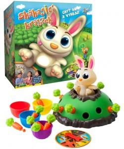 Skákající králíček - rodinná hra