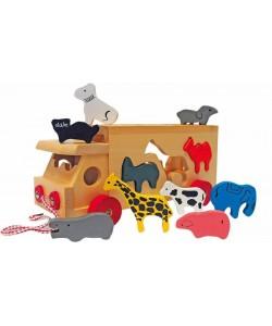Woody Kamion se zvířaty