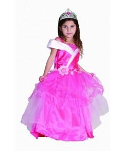 Kostým princezna Růženka, vel. XS 3-4 roky