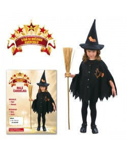 Kostým Malá čarodějka 92 - 104 cm