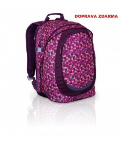 Studentský batoh Topgal HIT 800 V Violet Doprava zdarma