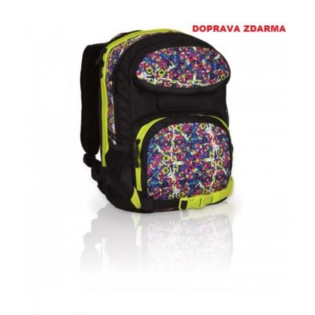 Studentský batoh Topgal HIT 815 A - Black - DOPRAV