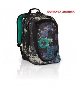 Studentský batoh Topgal HIT 801 A - Black