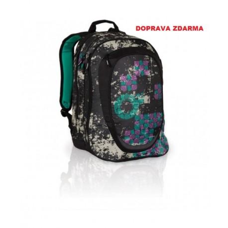 Studentský batoh Topgal HIT 801 A - Black - DOPRAV