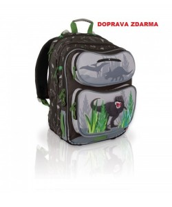 Školní batoh TOPGAL CHI 600 K - Brown