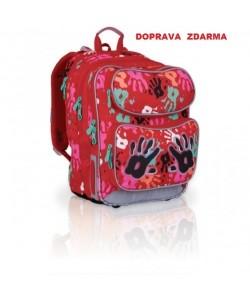 Školní batoh Topgal CHI 699 G - Red