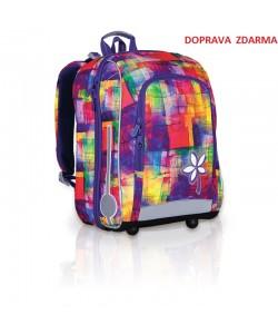 Školní batoh Topgal CHI 735I Purple Doprava zdarma