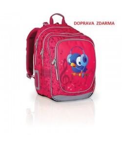 Školní batoh Topgal CHI 739 H Pink Doprava zdarma