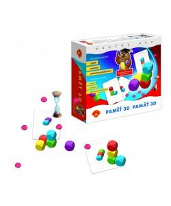 Paměť 3D společenská hra