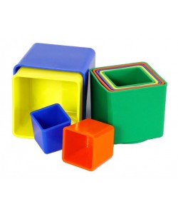 Pyramida kubus hranatý